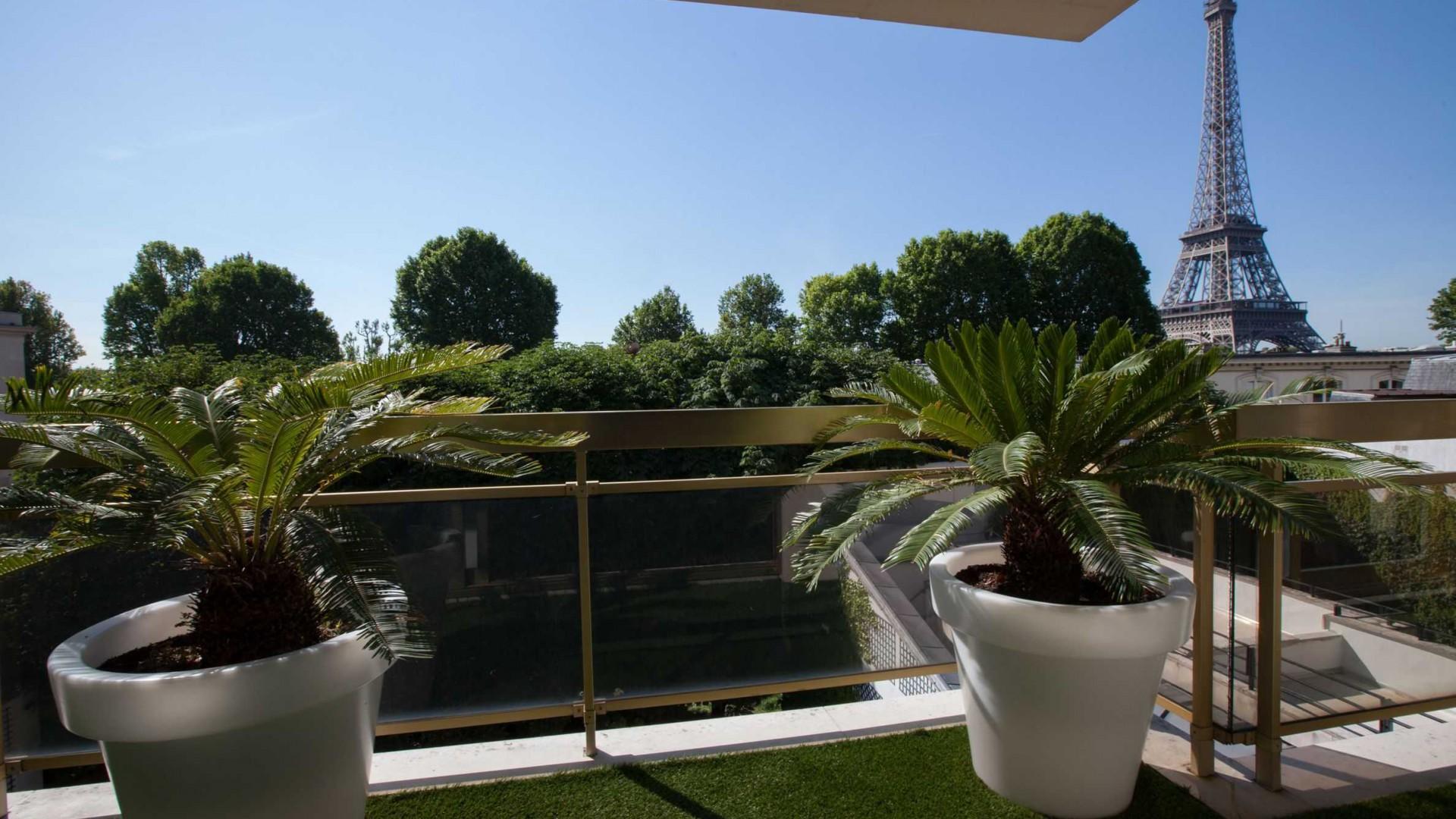 Espaces prestige for Immobilier avec terrasse paris